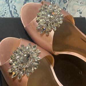 Badgley Mishchka Sainte blush heels